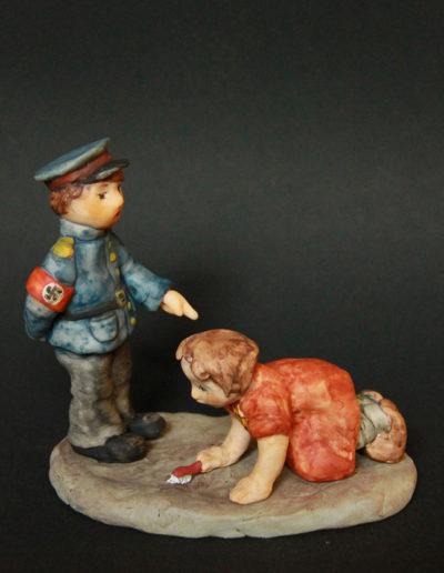 """""""Vienna"""", Sculpey, 5x5"""", 2002"""