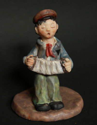 """""""Little Gipsy"""", Sculpey, 3x5"""", 2000 (SOLD)"""