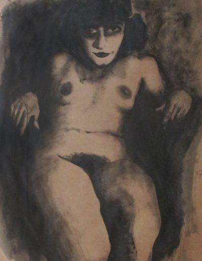 """Weimar"", acrylic on paper, 36x46"", 2015"